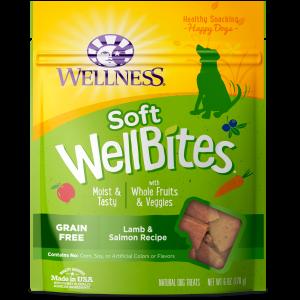 Wellness Wellbites Lamb and Salmon